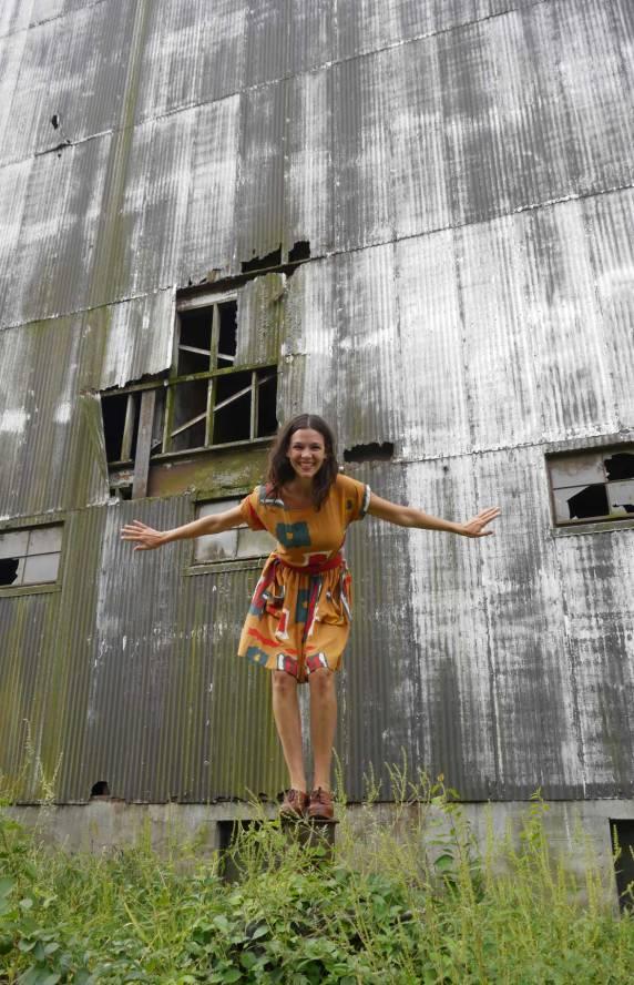 Pocket Dress, Turners Falls, MA